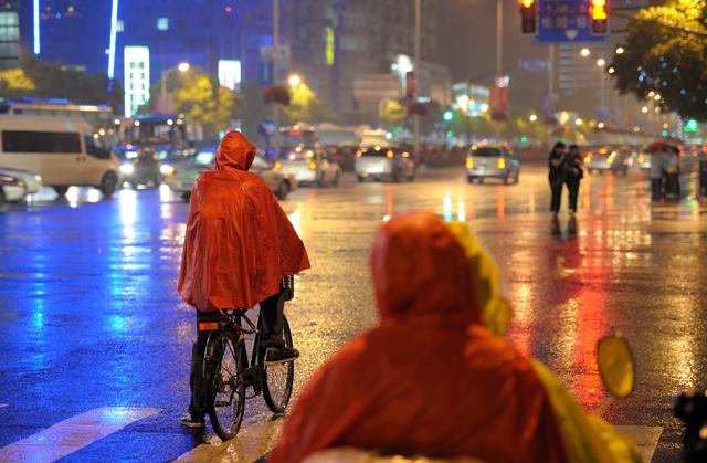 bicicleta con lluvia
