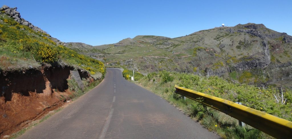 ruta bicicleta madeira