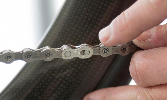 mantenimiento de la cadena de la bicicleta