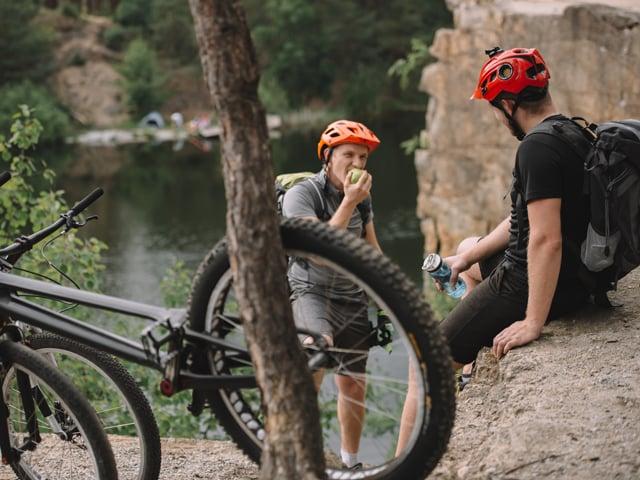 El peso ideal de un ciclista