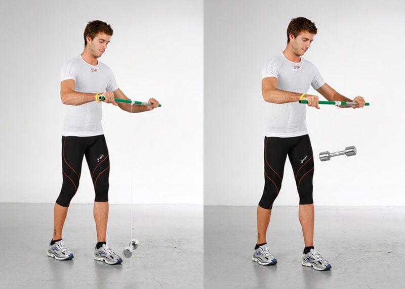 ejercicios para fortalecer antebrazos y muñecas