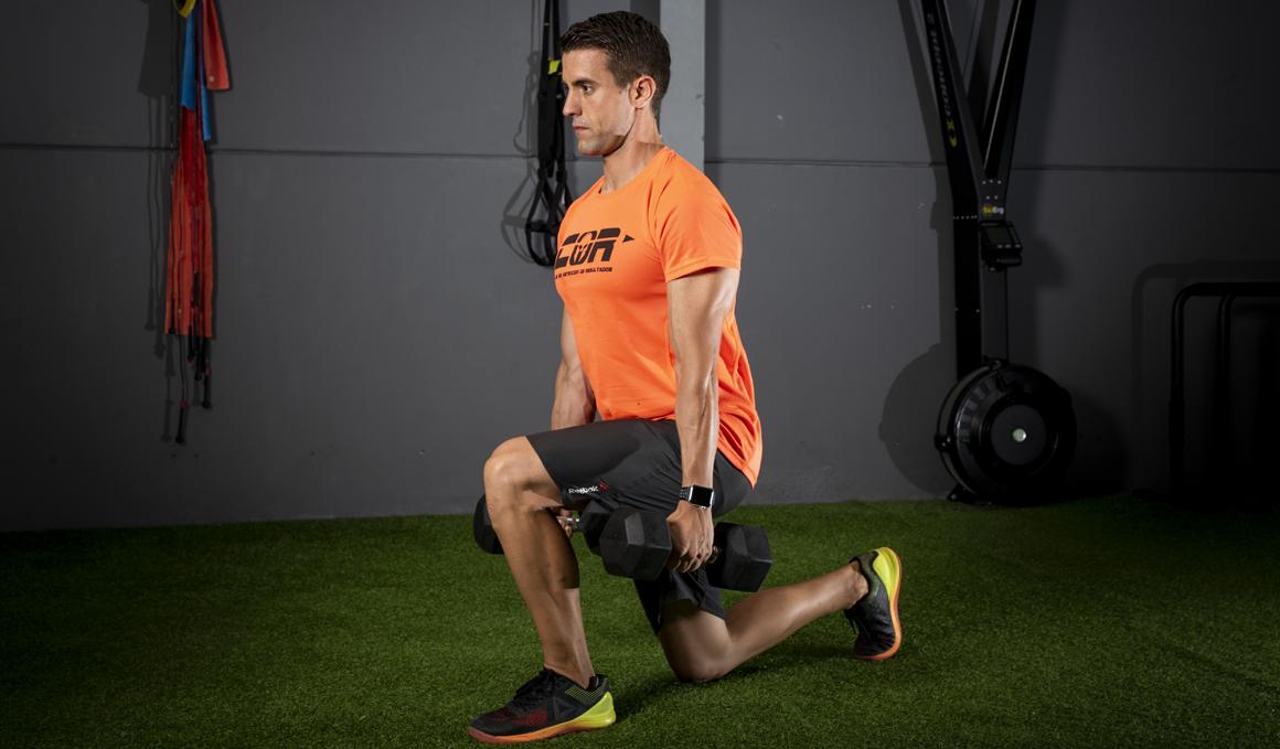circuito de CrossFit: Back lunge