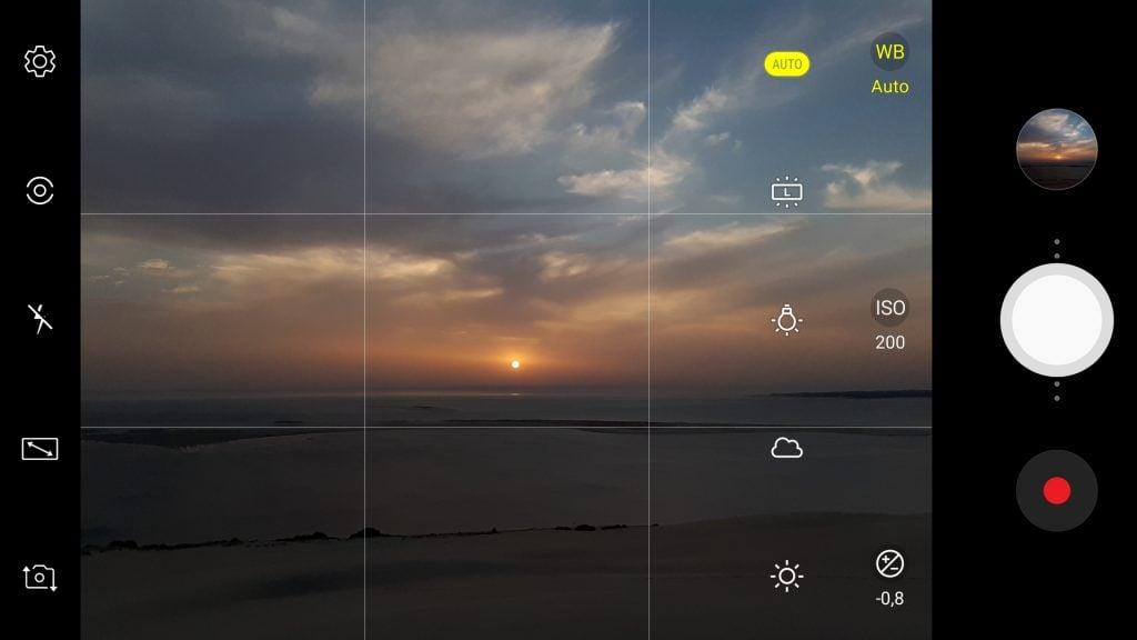 fotografía smartphone atardecer amanecer