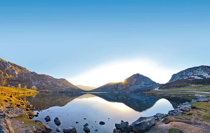 Lago Enol. Turismo Asturias
