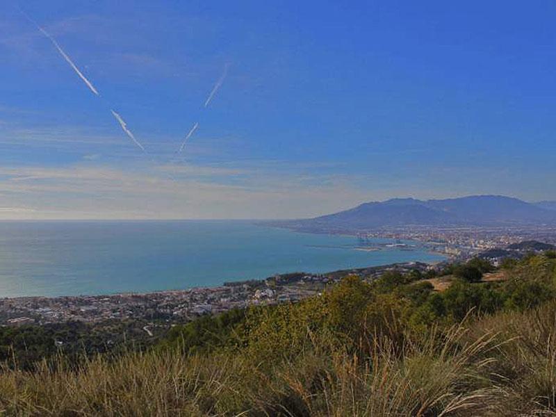 Málaga: Monte San Antón ∆ 507 m.
