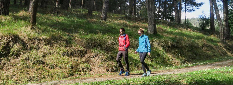 xcursiones para ir al monte a pie o en transporte público desde casa