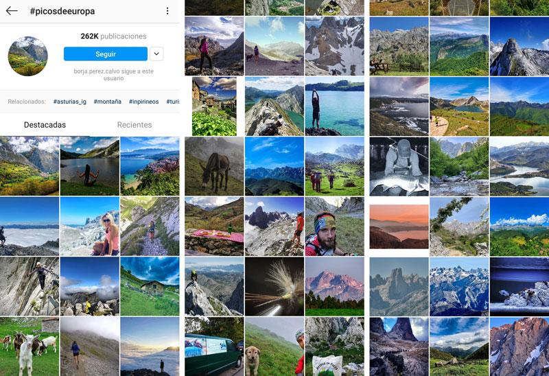 Cómo encontrar por Internet las mejores rutas de montaña para este verano: Instagram
