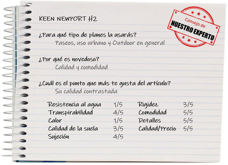 Las 6 mejores zapatillas infantiles de senderismo: Keen Newport H2
