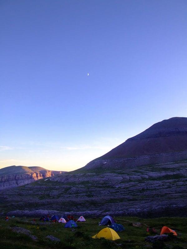 Acampada libre: Parque Nacional de Ordesa y Monte Perdido