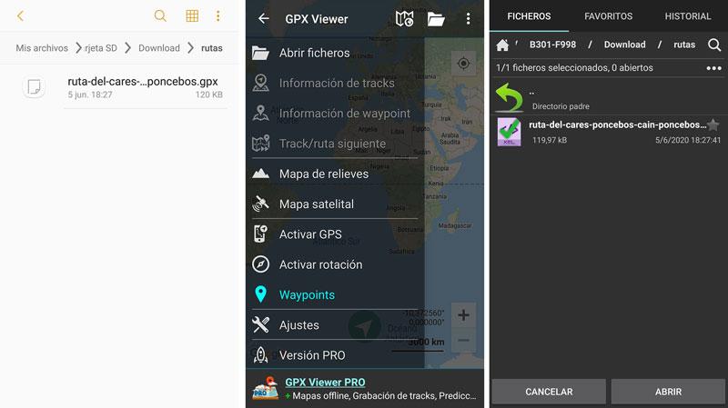 Cómo encontrar por Internet las mejores rutas de montaña para este verano: GPX Viewer