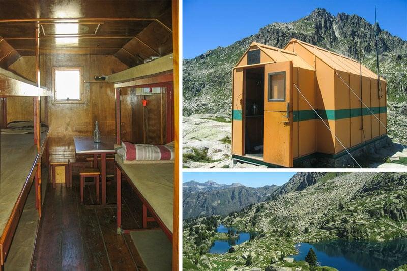 Refugios en Pirineos