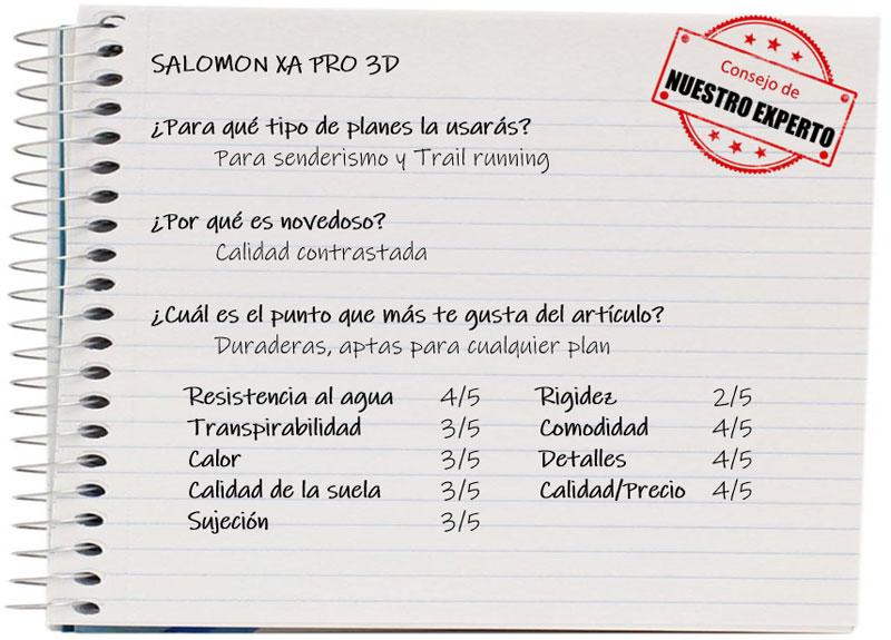 Las 6 mejores zapatillas infantiles de senderismo: Salomon Xa Pro 3d Cswp J