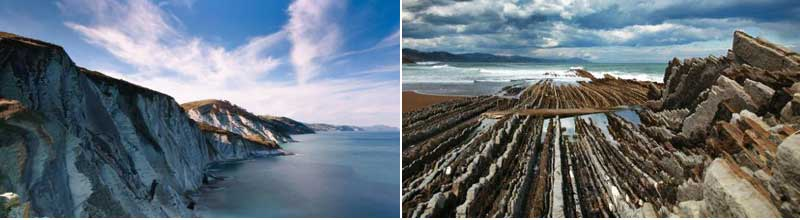 Los siete mejores geoparques: Geoparque Costa Vasca