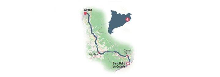 Vía Verde del Carrilet Girona – Sant Feliù de Guíxols: