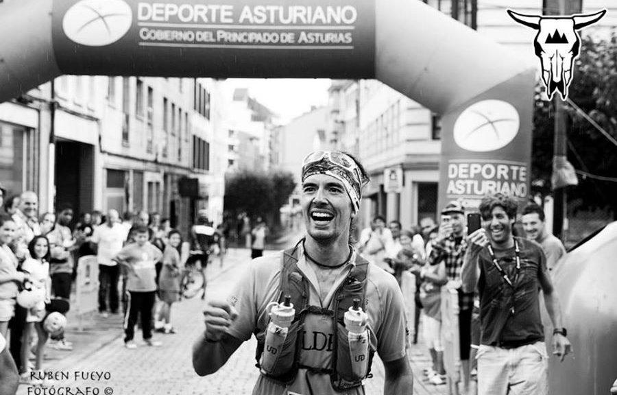 Foto Ruben Fueyo entrada en meta Julio Cernuda