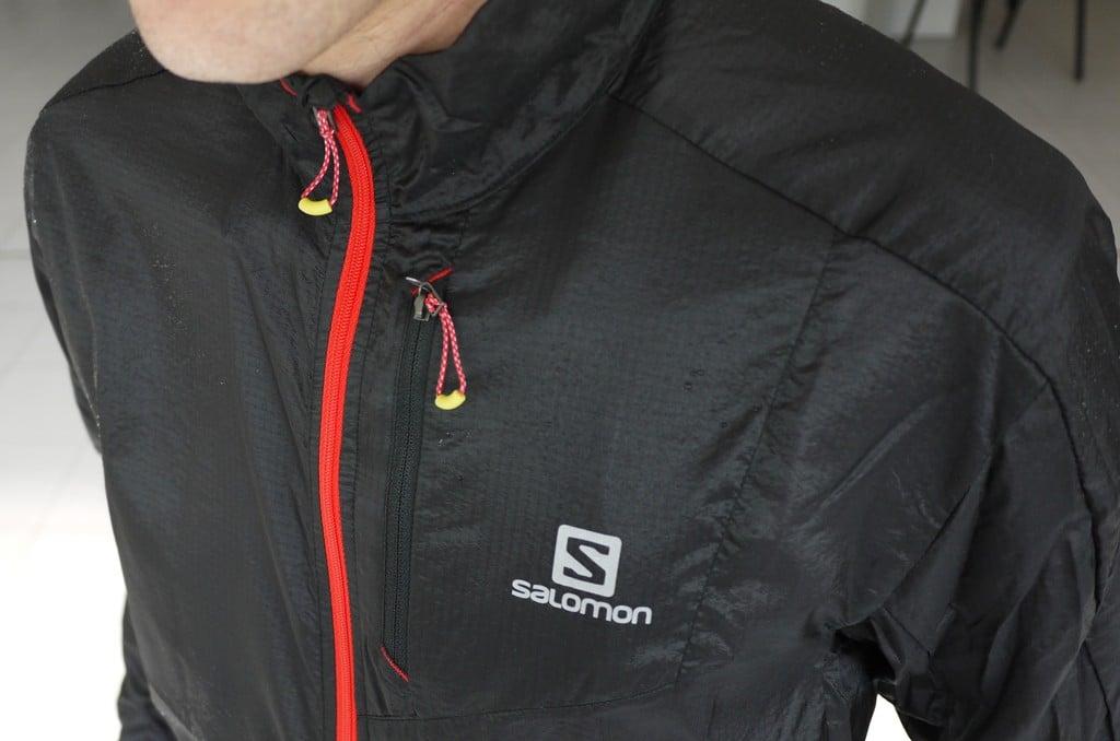 Detalle Salomon Fast Wing Jacket