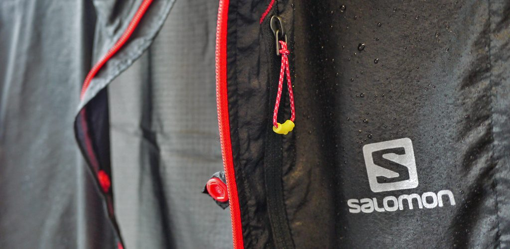 Detalle de la Salomon Fast Wing Jacket