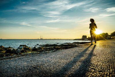 Corredora running