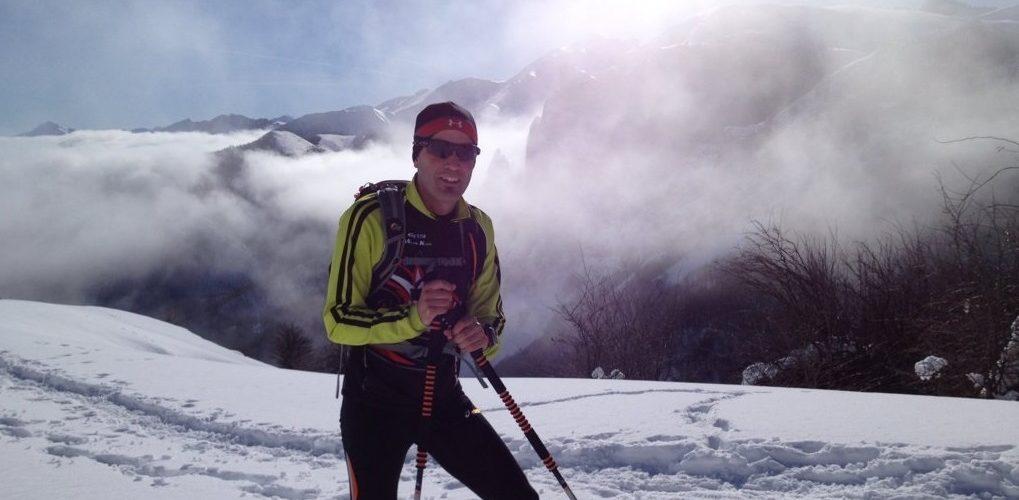 David Santurtzi en montaña