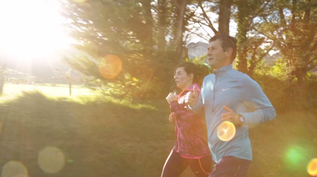 Correr por la mañana