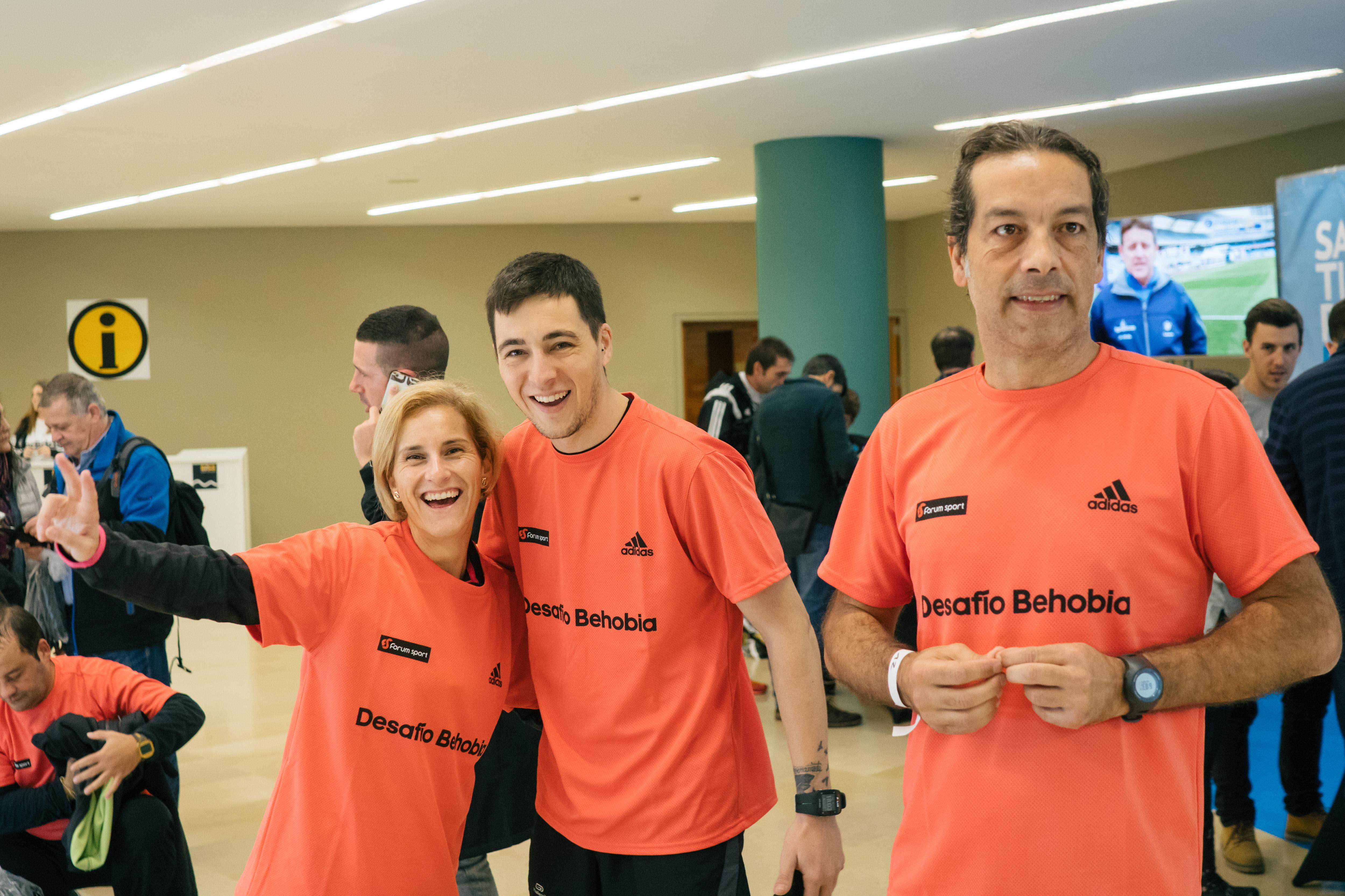 Behobia-San Sebastián, Desafío 3: Chema Martinez, Vanessa Veiga y Carles Castillejo, Take Charge Behobia-SS