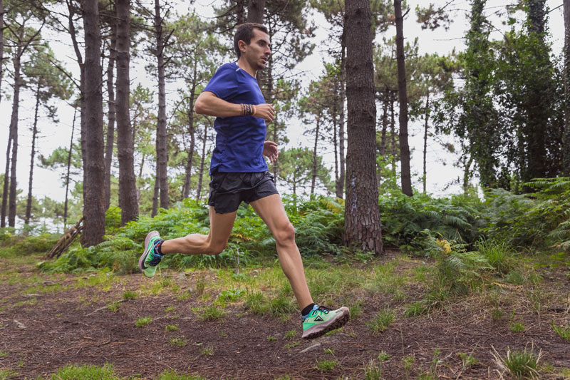Jon Pascual testeando las Nike Pegasus Trail 2