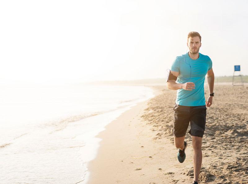 Cómo correr por la playa
